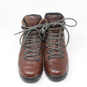 Merrell Shoes - Merrell Summit Dark Brown Leather Hiking Boots 8